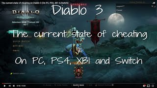 The current state of cheating on Diablo 3 (On PC, PS4, XB1 & Switch)