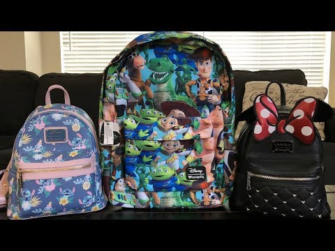MY LOUNGEFLY DISNEY BACKPACKS!
