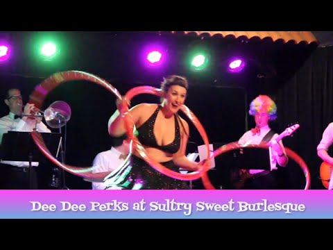 Dee Dee Perks at Sultry Sweet Burlesque