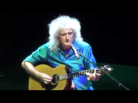 Brian May Is Playing  Something  (Beatles Song)