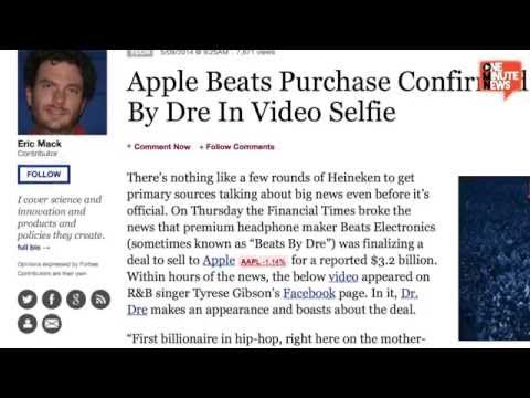 Hip Hop's First Billionaire Dr Dre Confirms Apple Beats Deal