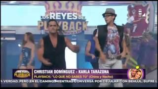 Christian y Karla imitaron al dúo 'Chino y Nacho' thumbnail