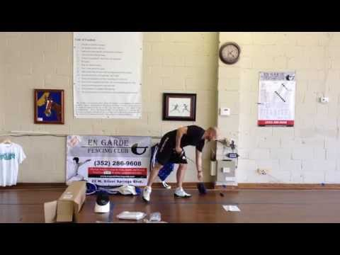 How To Assemble Your New Fencing Equipment From Blue Gauntlet!