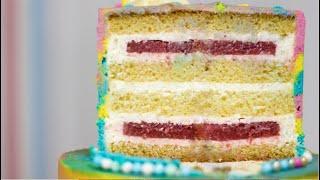 ТОРТ ФЕРМЕРСКОЕ ПОЛЕ Рецепт торта без кремчиза Вкусный летний торт за копейки Торт для новичков