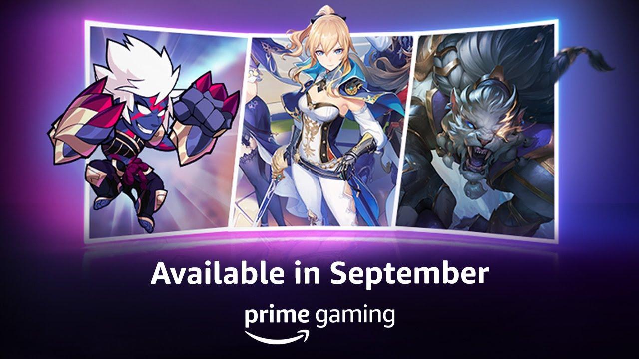 September 2021 Sneak Peek - Prime Gaming - PrimeGaming
