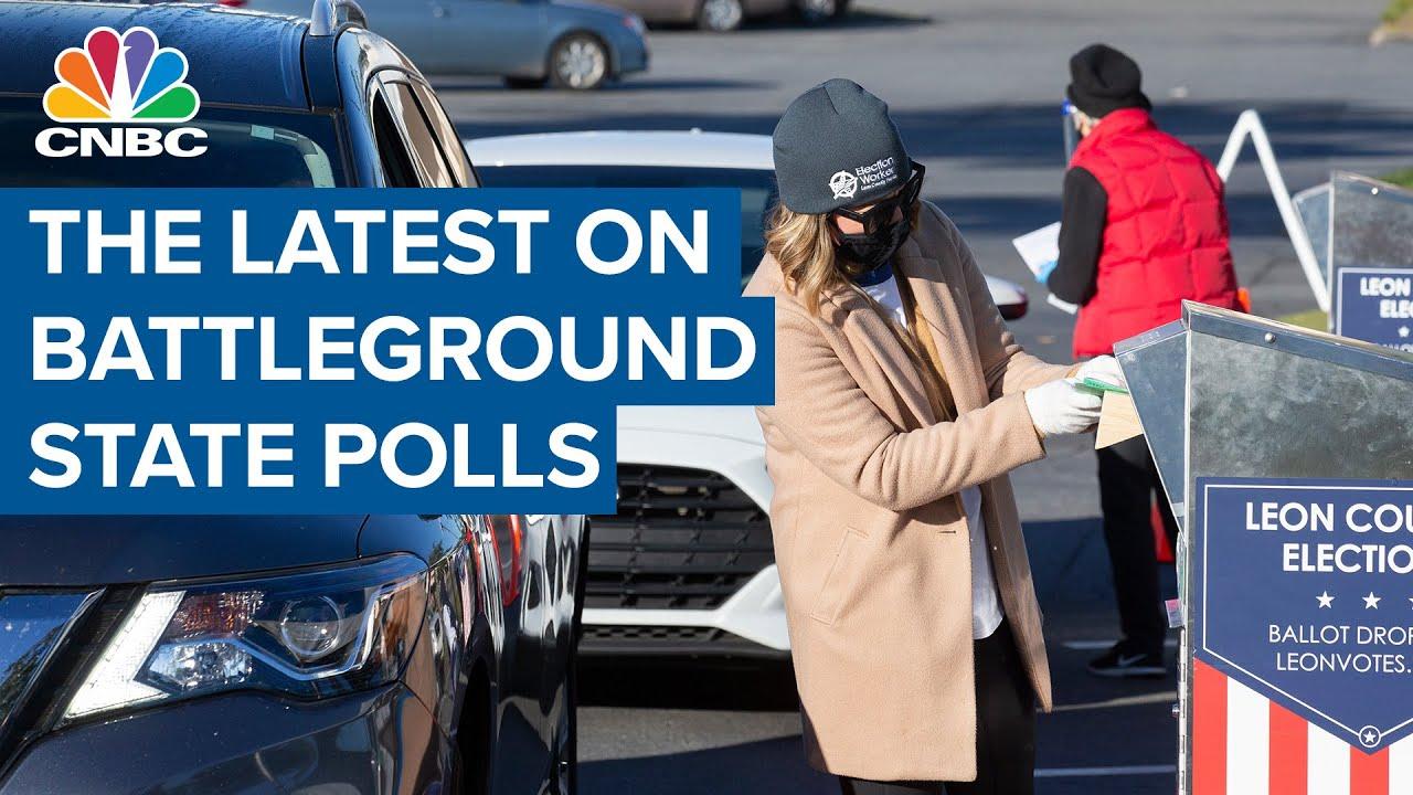 The latest on battleground state polls: NBC News' Steve Kornacki