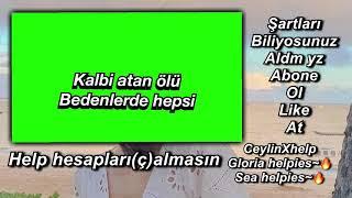 Pembe mezarlık yeşil ekran lyrics şartlar açıklamada