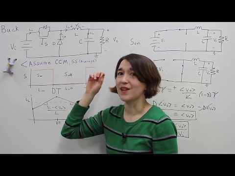 Buck Converter Operation and Voltage Equation