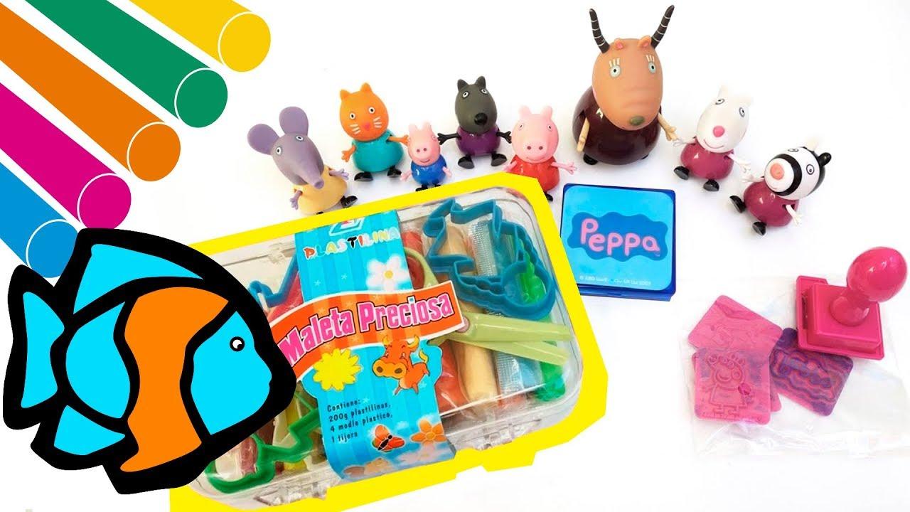 Peppa Pig juega con plastilina 🐽 🎈