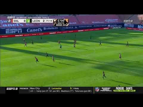 Atletico San Luis 0 - [2] Leon - Jean Meneses 71'