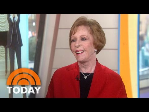 Carol Burnett On New Book, Who Would Play Her In 2016 | TODAY ...