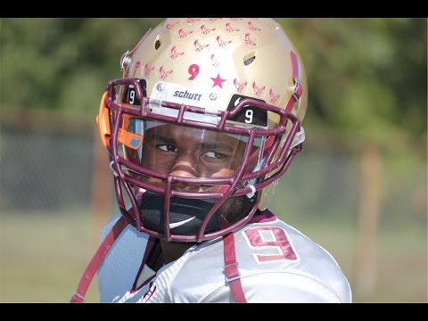 #9 Quinton Jordan 2014 Senior Season Football Highlights ~ Frederick Douglass High School