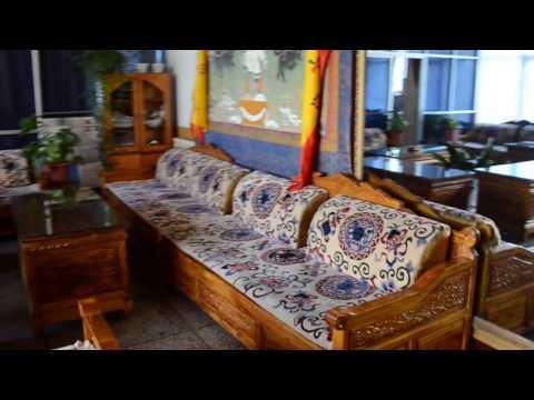 My room in Tibet University. Lhasa Tibet 2104 July