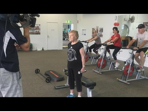 This 94-Year-Old Gym-Loving Grandmother Is The Internet's New Fitspiration