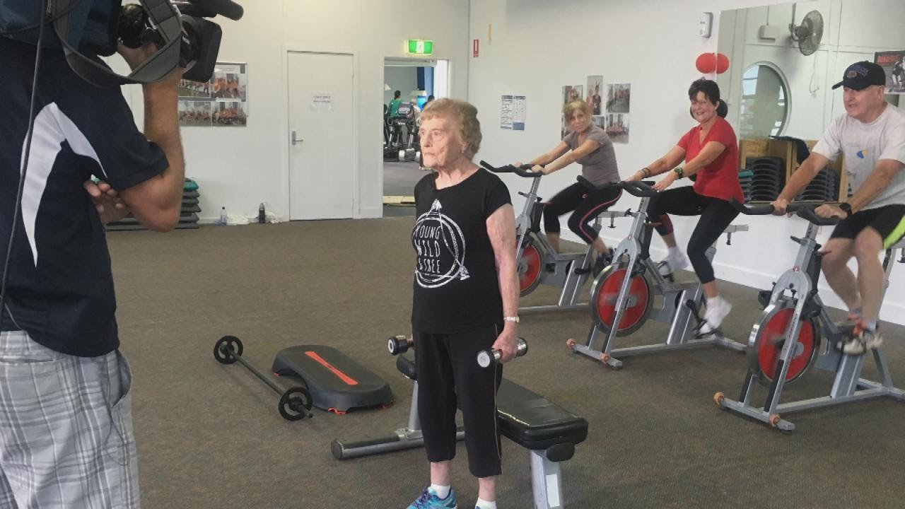 This 94 year old gym loving grandmother is the internets new