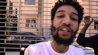 PnB Rock Mob Files DvD Freestyle (UnReleased Footage)
