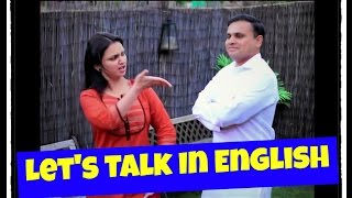Let's Talk in English | Sheorans | Funny Video