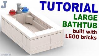 Tutorial - Large Lego Bathtub Thumbnail