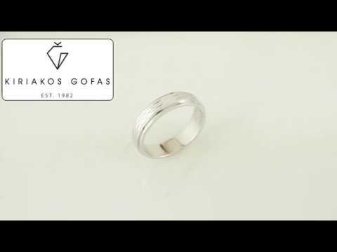 Ασημένια Βέρα Γάμου WRS213W - YouTube e280e79a0b1