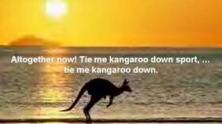 Tie me Kangaroos down, sport - Rolf Harris