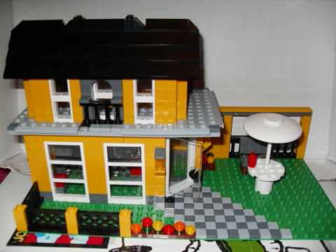 das haus aus lego mit musik von t d e youtube. Black Bedroom Furniture Sets. Home Design Ideas