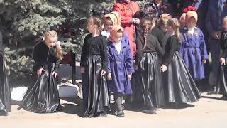 """9 мая. Постановка """"Дети войны"""". Детский сад, Саргазы 2016г."""