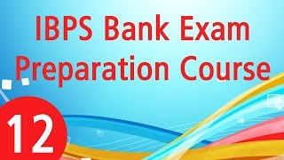 bank exam preparation course episode 12 ranking questions