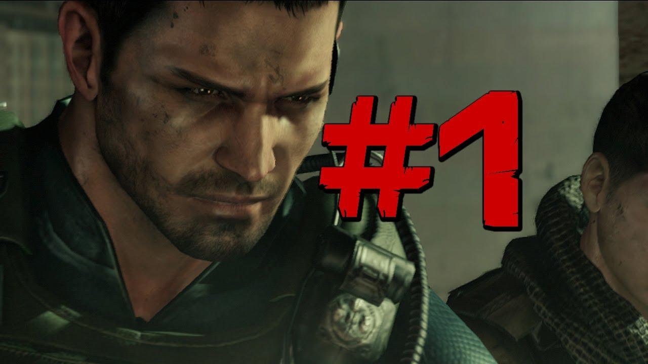 Resident Evil 6 Walkthrough Chris Part 1 Hard Times Ps3