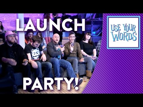 Use Your Words - Video Game Launch Party with Brentalfloss feat. The Living Tombstone
