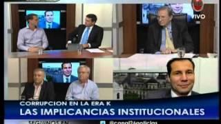 Debate en Hora Clave - con Fernando Sánchez, Federico Pinedo y Oscar Aguad