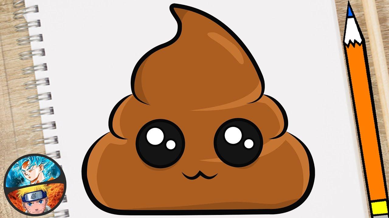 Como Dibujar Un Emoji De Popo Caca Kawaii Dibujos Kawaii Youtube