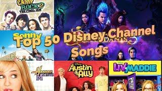 Top 50 Disney Channel Songs