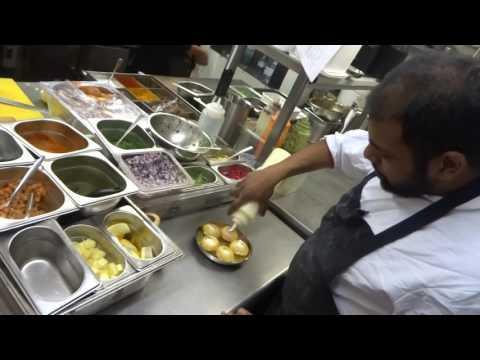 Bombay Bhel, Yoghurt Puri & Vada Pau Recipes: Indian Street Food At Chit Chaat Chai Restaurant.