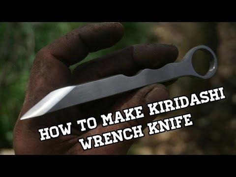 Knife Making -  Kiridashi Knife From Wrench