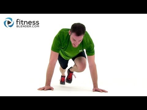 HIIT the Ground Running 33 Min High Intensity Interval Training for Endurance & Total Body Toning