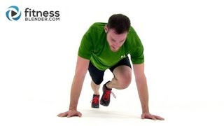 HIIT the Ground Running - 33 Min High Intensity Interval Training for Endurance & Total Body Toning