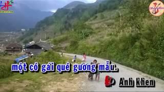 KARAOKE Tân Cổ - DUYÊN QUÊ ( Thanh Tuấn, Cẩm Tiên )