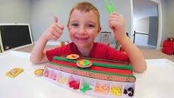 FATHER SON PLAY PIZZA MANIA!!! / Make Tiny Pizzas!