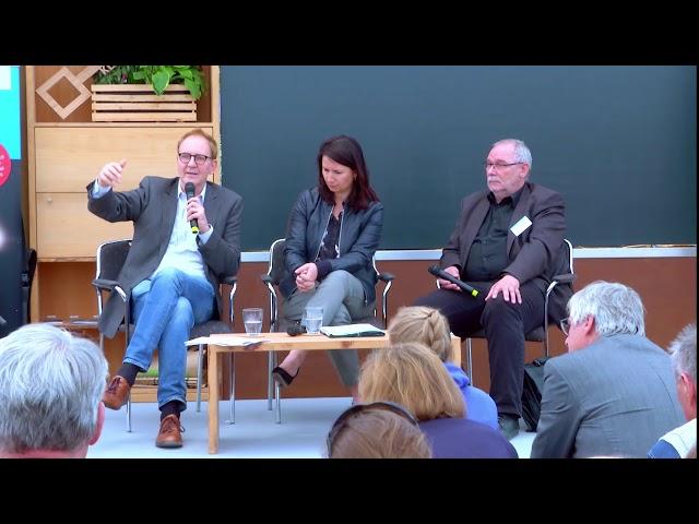 Gespräch Opielka, Siegesmund, Keine Klimapolitik ohne Soziale Nachhaltigkeit, Jena, 14.5.2019
