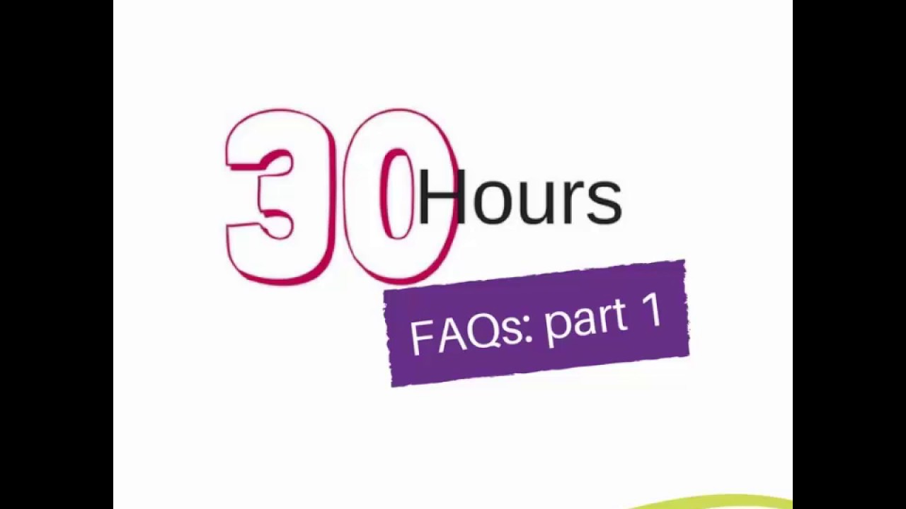 30 Hours Funded Childcare - Bucks Family Information Service