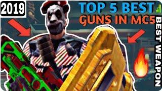 Top Five(5) Best Guns/Weapons 2018 - Modern Combat 5:Blackout(mc5)....