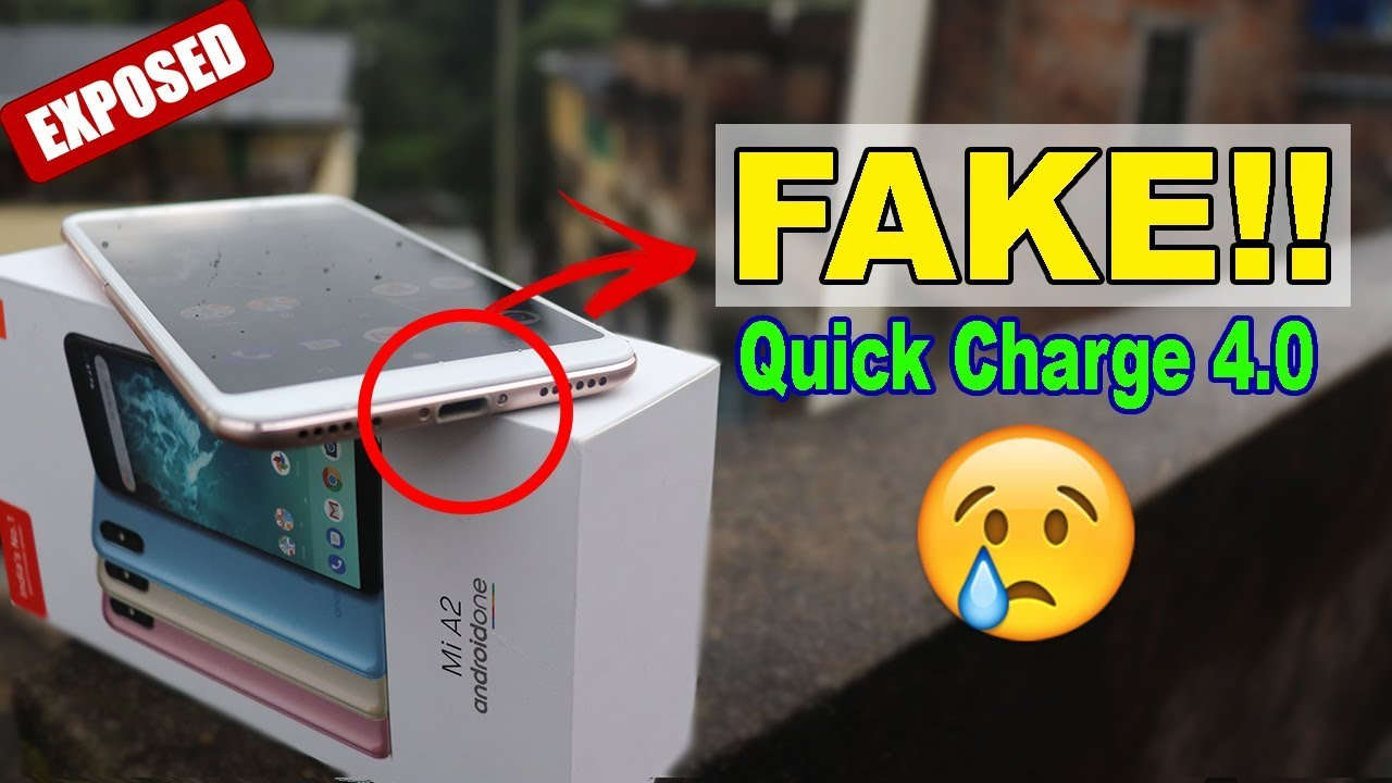 Xiaomi MI A2 Fast Charging Vs Slow Charging Speed Test - Its Fake Fast  Charge??