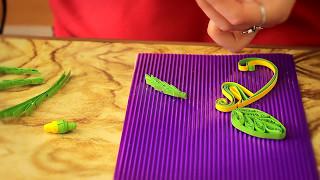 Відео-урок Квілінг. Як виготовити листівку