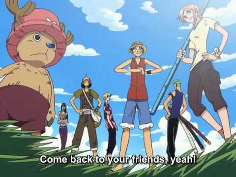 One Piece ED 11 - A to Z (FUNimation English Dub, Sung by Vic Mignogna, Subtitled)