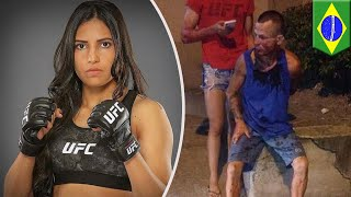 UFC Polyana Viana teaches mugger painful lesson - TomoNews