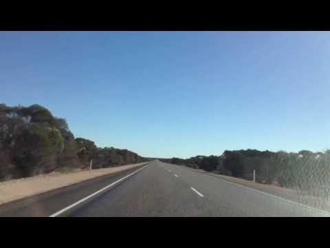 Stuart highway... About an hour out of port Augusta.
