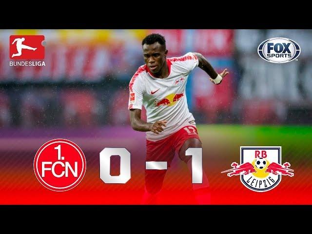 Melhores momentos de Nurnberg 0x1 Leipzig, pela Bundesliga.