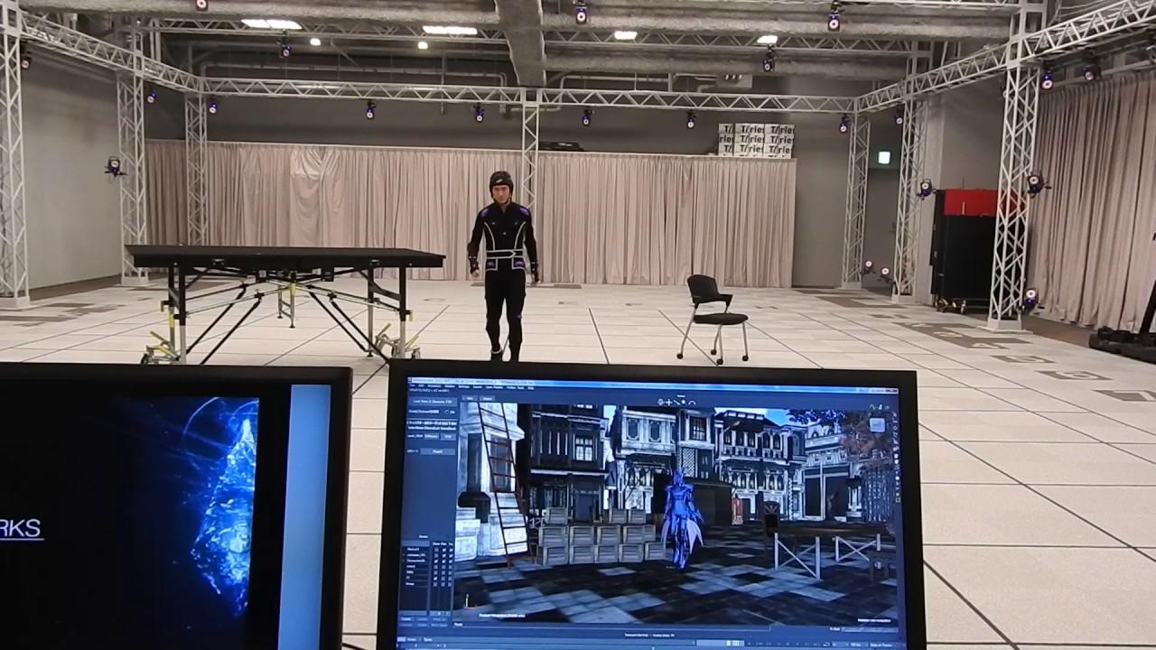 Download Mocap at Square Enix's headquarters