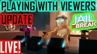 """🔴""""$500,000 BOIIII"""" RobloX JAILBREAK (playing with subs)🔴"""