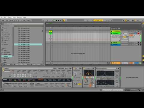 Physical Modeling in Synthesizer Ableton Live Tension Sound Design Crazy Bass
